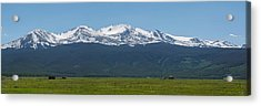 Mt. Massive - Spring Acrylic Print by Aaron Spong