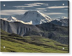 Acrylic Print featuring the photograph Mt. Mather by Gary Lengyel