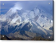 Acrylic Print featuring the photograph Mt. Mckinley Alaska by Jack G  Brauer