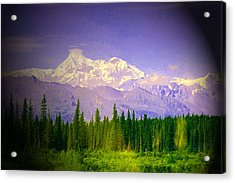 Acrylic Print featuring the photograph Mt Mckinley Ambiance by Jack G  Brauer