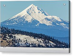 Acrylic Print featuring the photograph Mt. Mcloughlin by Marc Crumpler