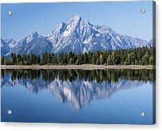 Mt. Moran Grand Tetons Acrylic Print