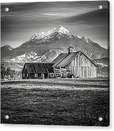 Mt Pilchuck Acrylic Print