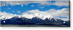 Mt. Princeton Colorado Acrylic Print