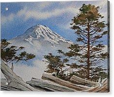Mt. Rainier Landscape Acrylic Print by James Williamson