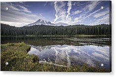 Mt. Rainier Reflection Acrylic Print