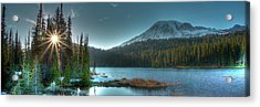 Mt. Rainier Sunrise Acrylic Print