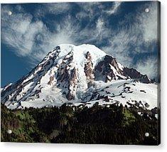 Mt Rainier - Washington State Acrylic Print