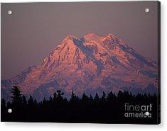Mt. Rainier Washington Acrylic Print by Robert  Torkomian