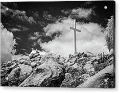Mt. Rubidoux Acrylic Print by G Wigler