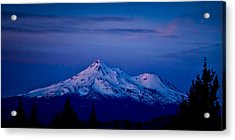 Mt Shasta At Sunrise Acrylic Print