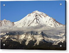 Mt. Shasta Summit Acrylic Print by Holly Ethan