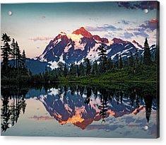 Mt. Shuksan Washington Northern Cascades Acrylic Print