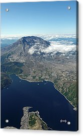 Mt. St. Helens Aerial 2225 Acrylic Print by David Mosby