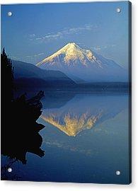 1m4907-v-mt. St. Helens Reflect V  Acrylic Print