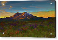 Mt. St. Helens Sunrise Acrylic Print