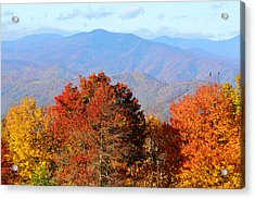 Mt. Sterling Acrylic Print by Alan Lenk