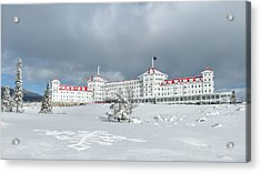 Mt. Washington Hotel Acrylic Print by Joseph Smith