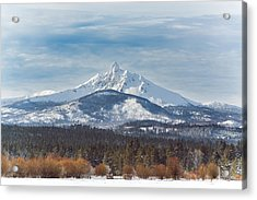 Mt. Washington Acrylic Print by Joe Hudspeth