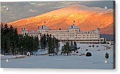 Mt. Washinton Hotel Acrylic Print