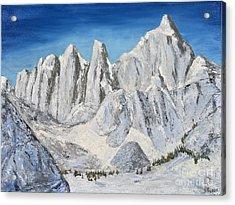 Mt. Whitney Summit Acrylic Print
