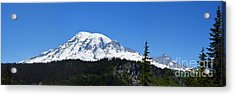 Mt.rainier Acrylic Print by Scott Cameron