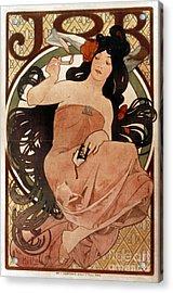 Mucha: Cigarette Paper Ad Acrylic Print by Granger