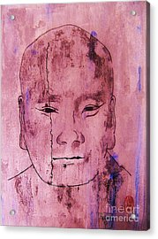 Acrylic Print featuring the painting Muchaku Of Kamakura by Roberto Prusso