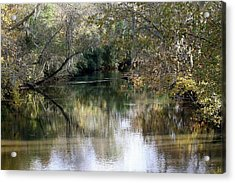 Acrylic Print featuring the photograph Muckalee Creek by Jerry Battle