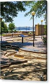 Mud Island Park Acrylic Print