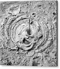 Mud Pool Acrylic Print