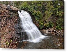 Muddy Creek Falls Acrylic Print by Dung Ma