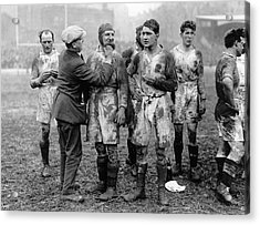 Muddy Players Acrylic Print by Hulton Collection