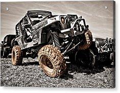 Muddy Super Swamper Tj Acrylic Print