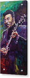 Muddy Waters 4 Acrylic Print by Yuriy Shevchuk
