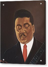 Muddy Waters  Acrylic Print by Helen Thomas