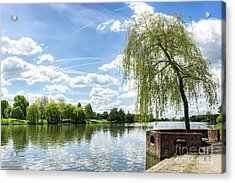 Muenster Aasee Acrylic Print