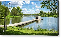 Muenster Aasee Panoramic View Acrylic Print