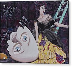 Muffet And Dumpty Acrylic Print