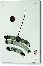 Muga No Genri Acrylic Print by Roberto Prusso