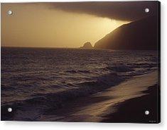 Mugu Rock - Pacific Coast Highway Acrylic Print by Soli Deo Gloria Wilderness And Wildlife Photography
