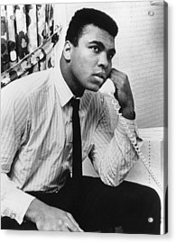 Muhammad Ali (1942- ) Acrylic Print by Granger
