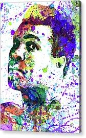 Muhammad Ali Acrylic Print by Dante Blacksmith
