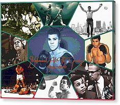 Muhammad Ali The Greatest  Acrylic Print