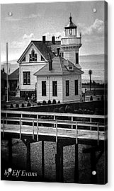 Acrylic Print featuring the photograph Mukilteo Lighthouse by Elf Evans