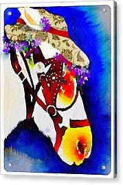 Mule Days Acrylic Print