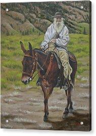 Mule Walk Acrylic Print