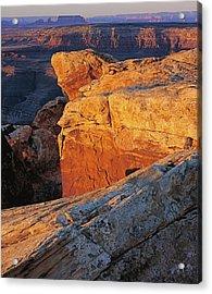 Muley Point Sunrise-v Acrylic Print