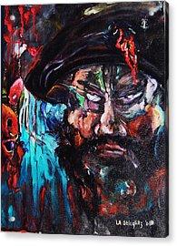 Mullah Madness Acrylic Print by Lee Anne Stieglitz