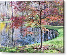 Multi Color Japanese Maple Acrylic Print